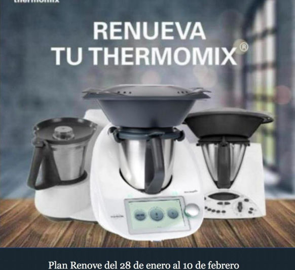 RENUEVA TU Thermomix® EN 3, 2, 1....