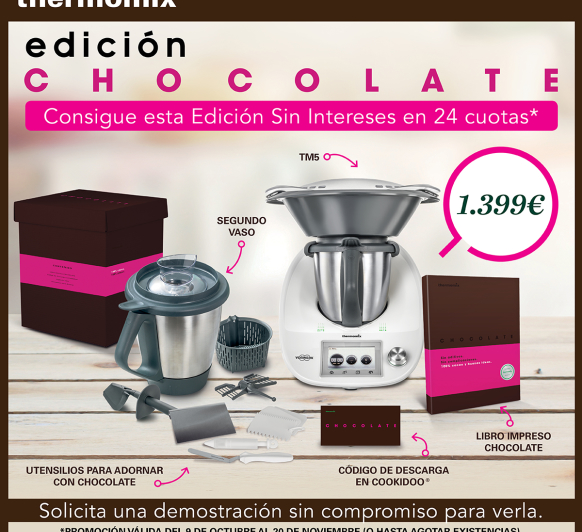 EDICIÓN CHOCOLATE 0% INTERESES