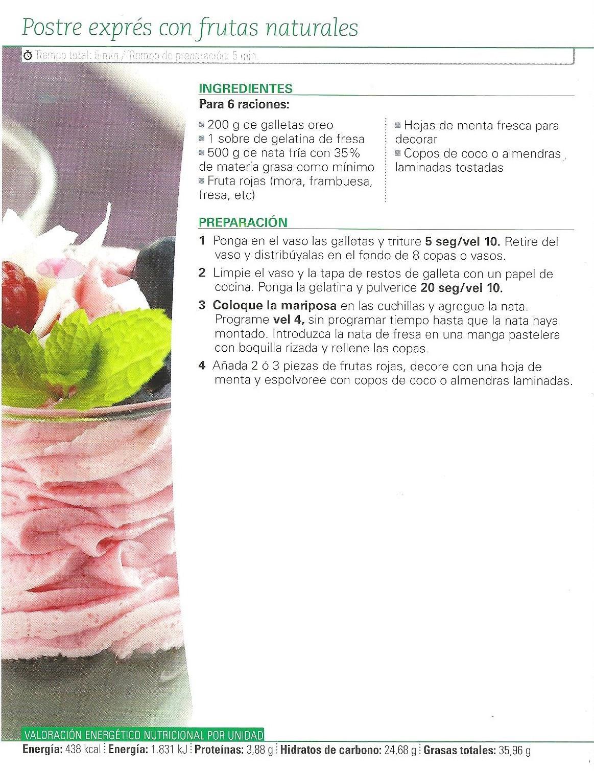 recetas variadas
