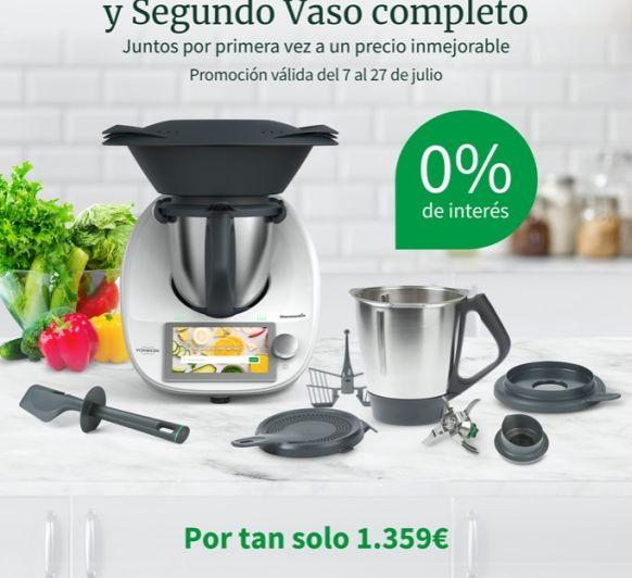 SUPER EDICIÓ Thermomix® TM6 AMB DOBLE VAS AL 0% PUIGCERDÀ