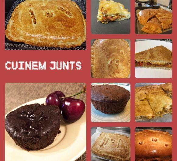 Cuinem junts: Empanada de tonyina i volcans de xocolata