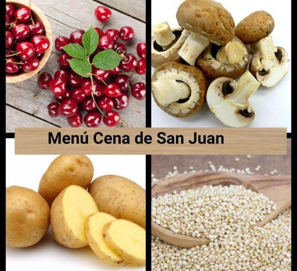 Menú Cena de San Juan