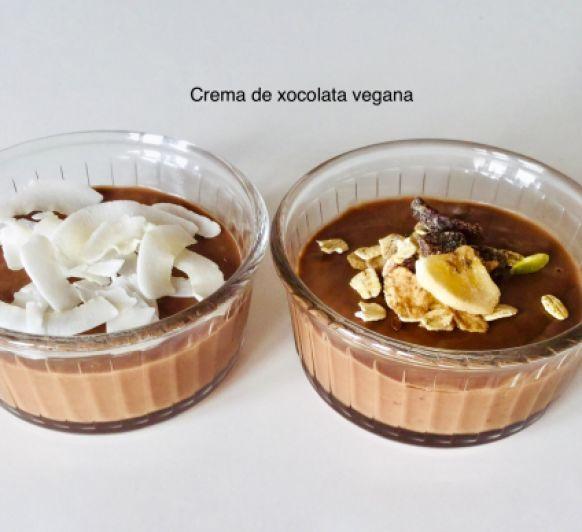 Crema de xocolata vegana