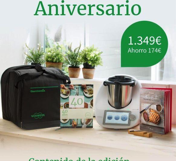 ANIVERSARIO Thermomix® , DISFRÚTALO POR 32,11€ AL MES