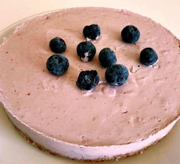 Cheesecake de gerds vegà
