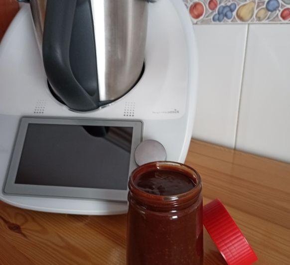 Crema de xocolata i avellanes (apta per vegans)