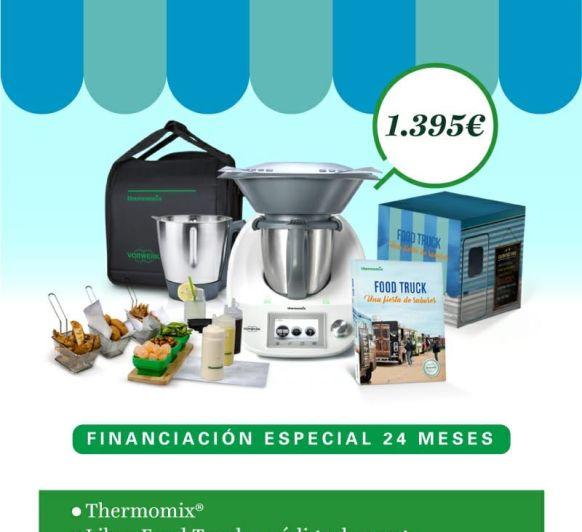 NUEVO LIBRO Thermomix® FOOD TRUCK + EDICIÓN ESPECIAL FINANCIACIÓN 0%